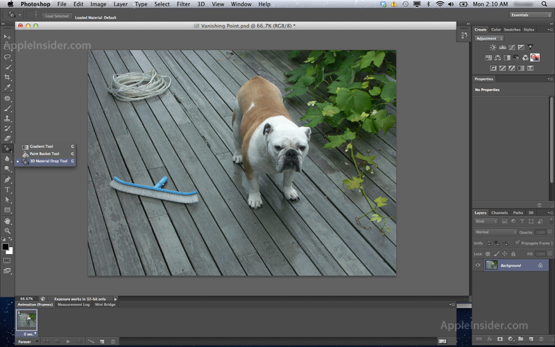 how to make a photo 3d in photoshop cs6