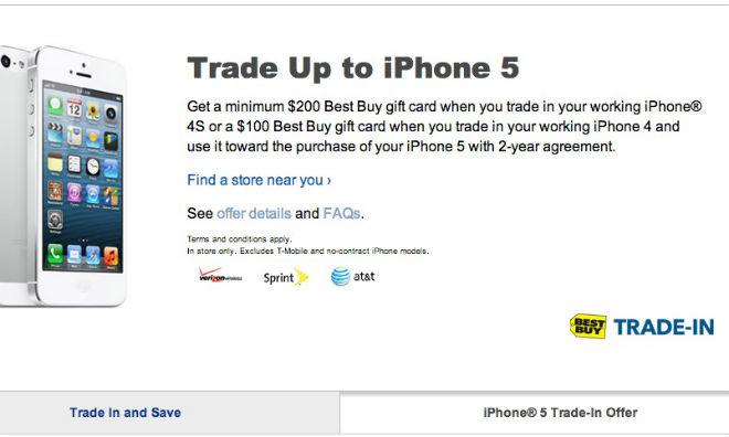 Aug 15,  · Customers bringing in a working iPhone 4 will receive at least a $ Best Buy gift card good toward the purchase of an iPhone 5 with a two-year agreement. Those bringing in an iPhone .